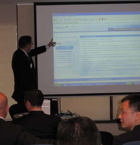 Jon Green demonstrates Westlaw China